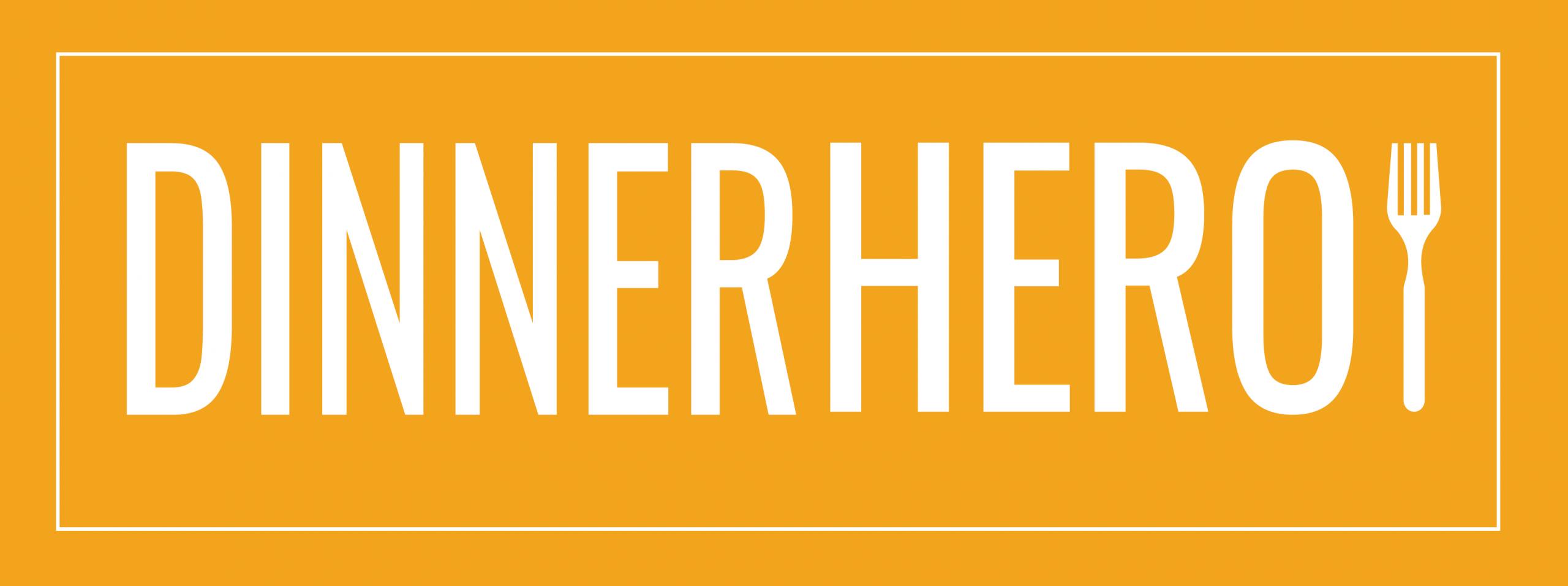 dinner hero logo final rectangle orange