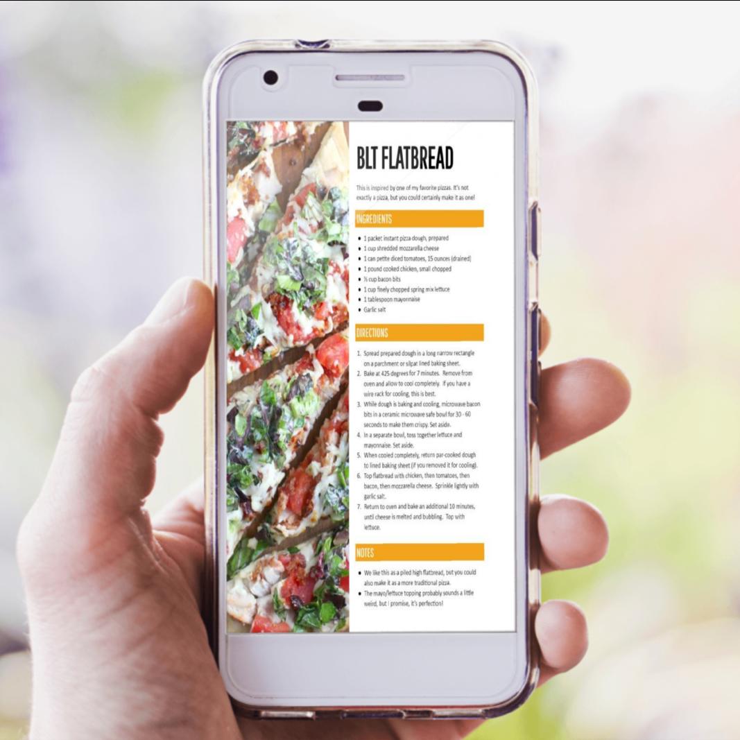 Dinner Hero Printed Binder + Instant Download ($12 Savings