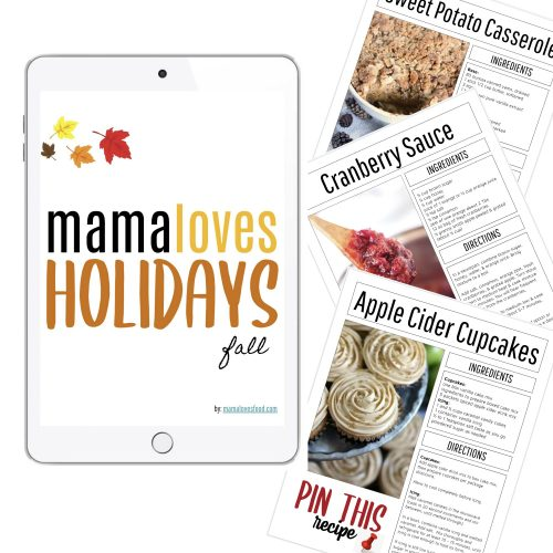 MAMA LOVES FALL HOLIDAYS PROMO