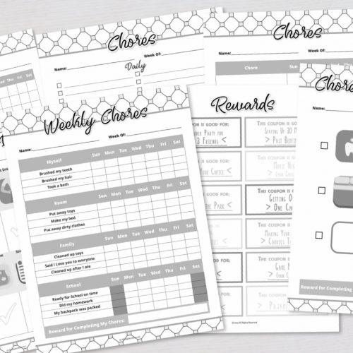 Chore Tracker Variety Pack